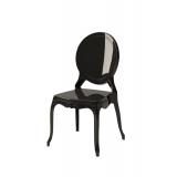 Der Stuhl für Braut und Bräutigam MEDALION Schwarz