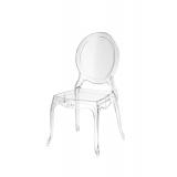 Der Stuhl für Braut und Bräutigam MEDALION Transparent