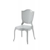 Der Stuhl für Braut und Bräutigam AMOR Silber