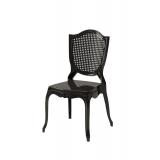 Der Stuhl für Braut und Bräutigam AMOR Schwarz
