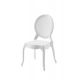 Der Stuhl für Braut und Bräutigam DIANA weiß
