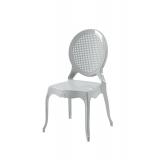Der Stuhl für Braut und Bräutigam DIANA Silber
