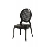 Der Stuhl für Braut und Bräutigam DIANA Schwarz