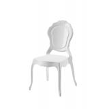Der Stuhl für Braut und Bräutigam LUNA weiß