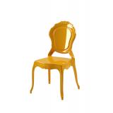 Der Stuhl für Braut und Bräutigam LUNA Gold