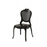 Der Stuhl für Braut und Bräutigam ZEUS Schwarz